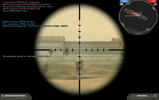 Two 700m kills!