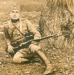 Serbian Soldier WW2