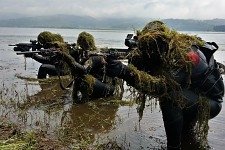 Serb Special Forces Training on Vlasina Lake