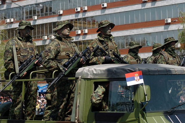 Day of Serbian Army in Krusevac [20.04.2013]