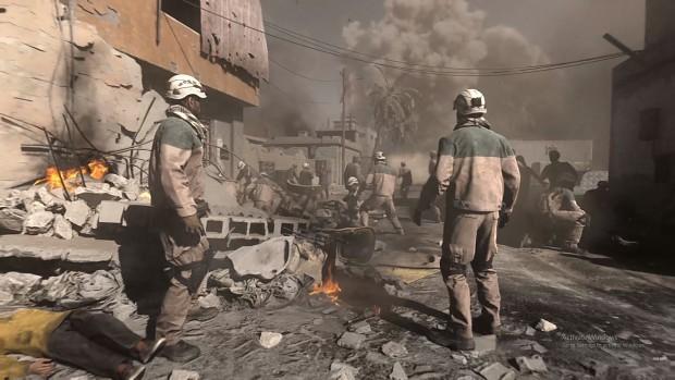 "Is ""Modern Warfare"" whitewashing The White Helmet's Criminal Background?"
