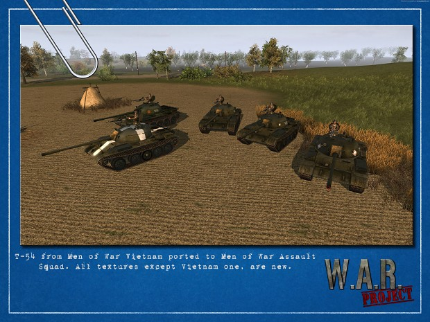 T-54 model for Men of War Assault Squad