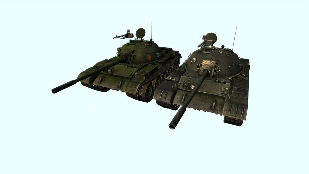 T-54 - original skin vs. new