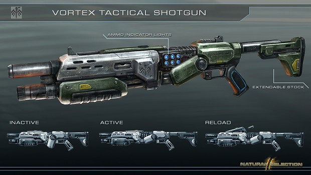 Raptor's Shotgun