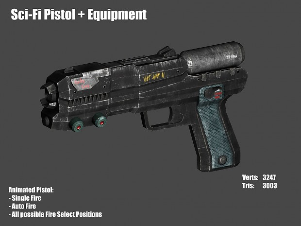 Blacklight's Pistol