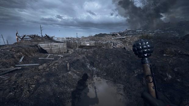 Unlocked the Battlefield1 Dud Club Melee Weapon!