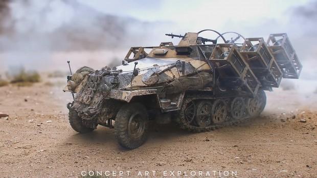 Battlefield V Concept Art Exploration