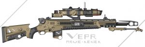 Vepr - M5B1 Arme-Kenek Anti-Material Railgun