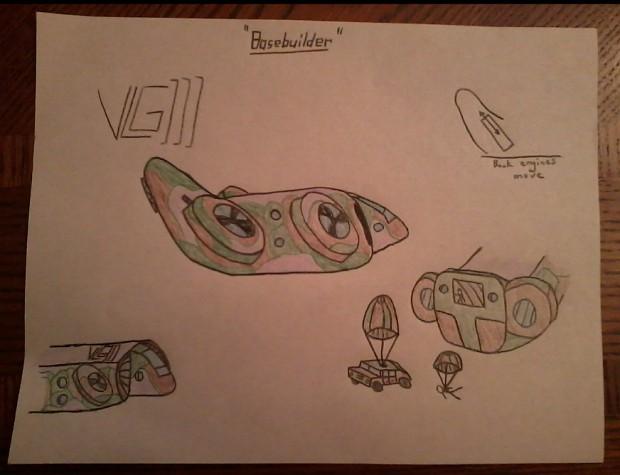 "Concept ""Basebuilder"" VTOL"