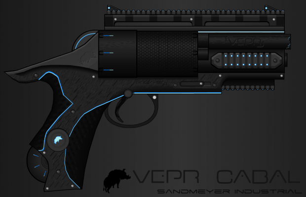 Vepr Industries - SI Cabal Eight-Shooter Revolver