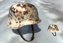 Winter camo helmet for Sir Hinkel