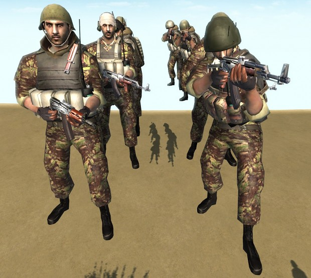 Modern Skirmish Mod: Afghan National Army