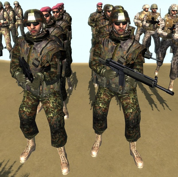 Modern Skirmish mod: German Paratroopers