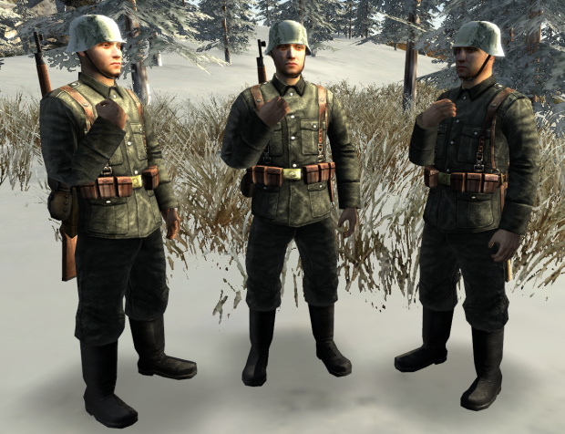 Finnish soldier grey