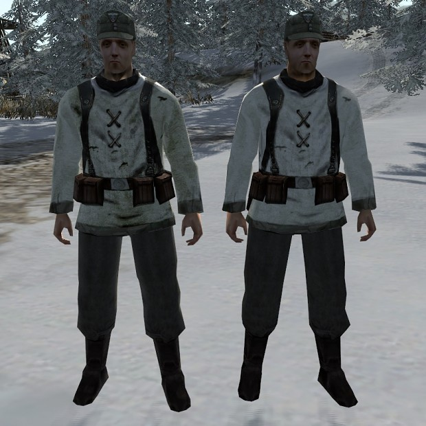 Winter skins for Sir Hinkel