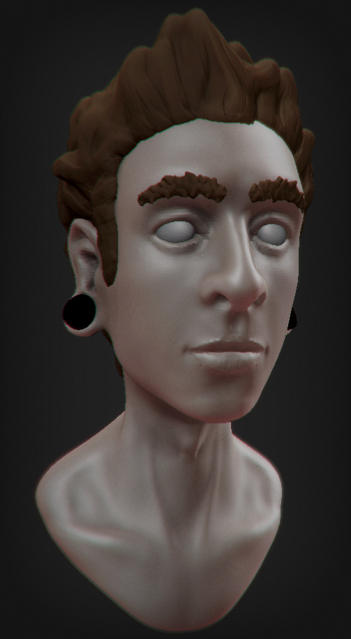 3d Self Portrait