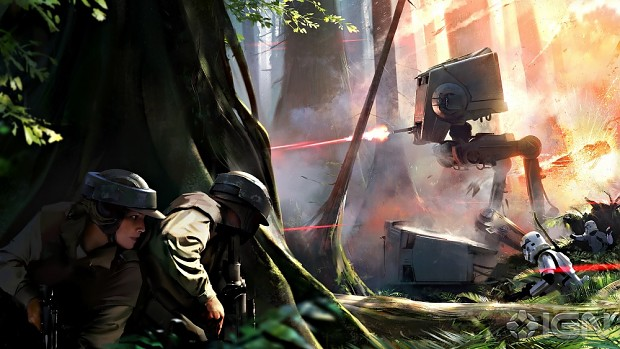 StarWars Battlefront Concept Art