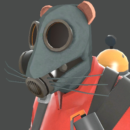 Pyro mouse hat