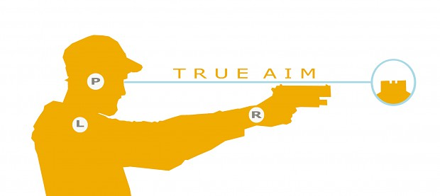TRUE AIM LOGO