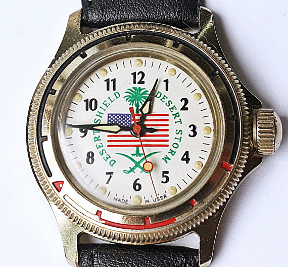 Soviet made watches for USA army
