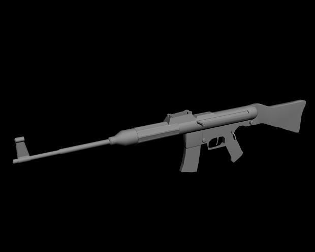 Sturmgewehr 45 WIP Model