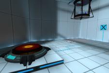 Portal Cube Re-Skin Water Cube
