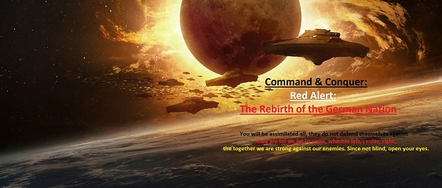 Command & Conquer Red Alert The Rebirth of the Ger