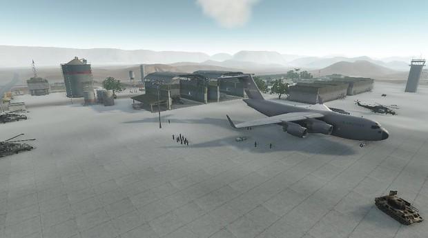 Desert Military Base