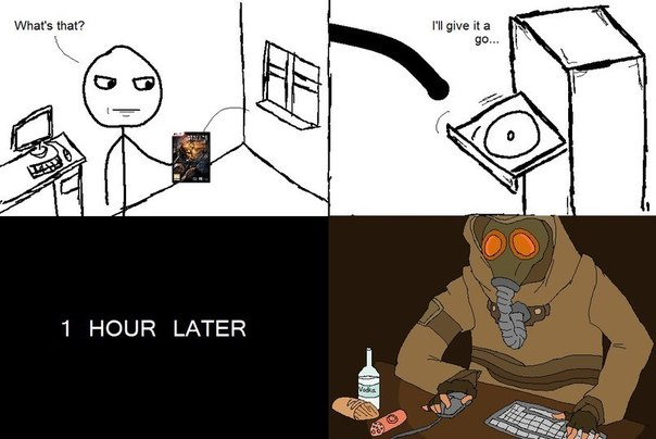 How i got into stalker