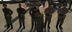 Men of War Diorama - Austrian Rendezvous