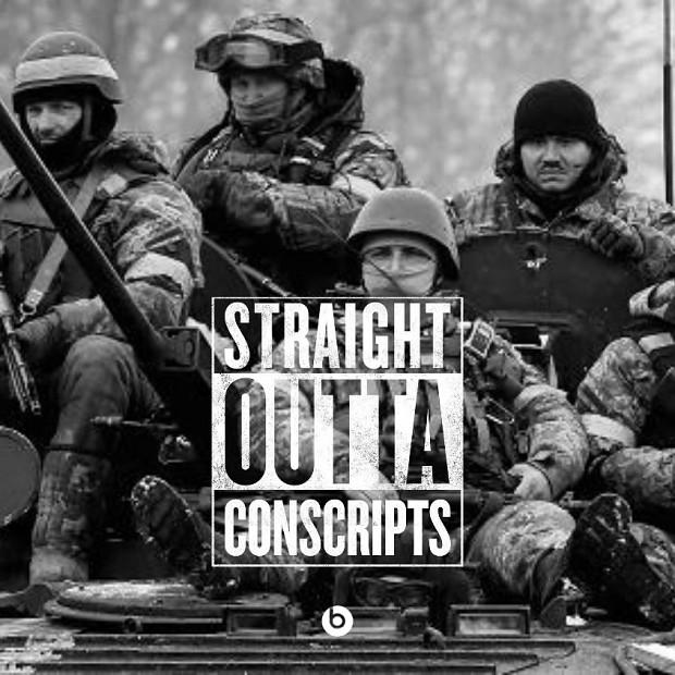 Ukrainian Army's hit new single...