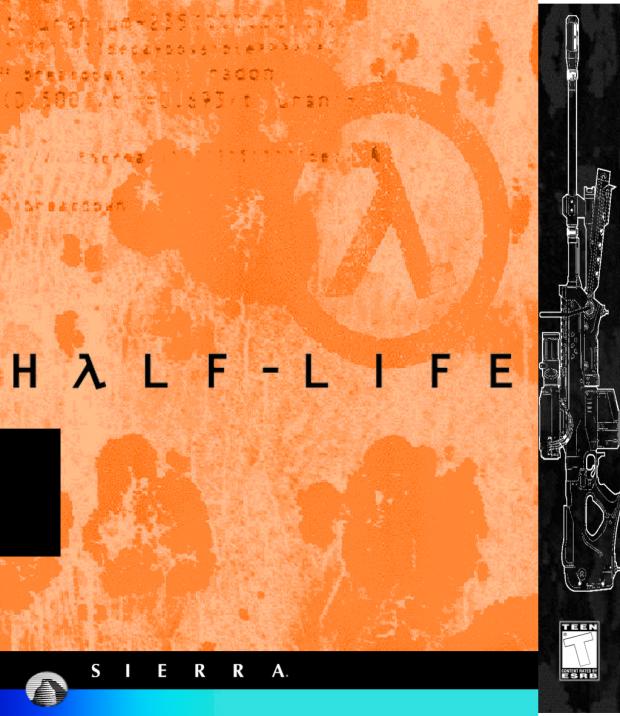Half life Beta Cover