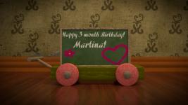 Birthday card :*