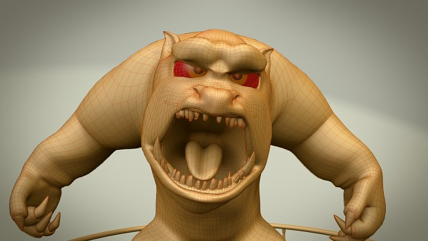 Monster clay renders