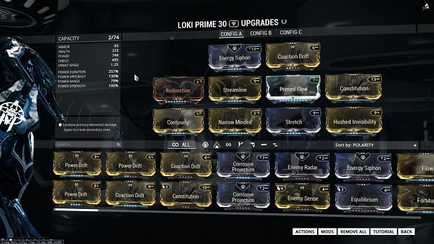 WF: Loki Build