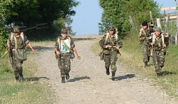 Romanian army girls
