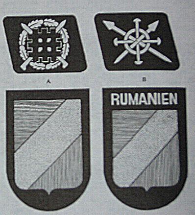 Romanian SS patch