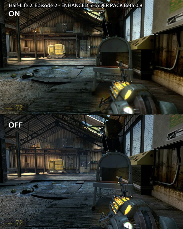 Comparison - HL2: Episode 2 Enhanced Shader Pack