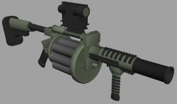 MGL 160 Grenade Launcher