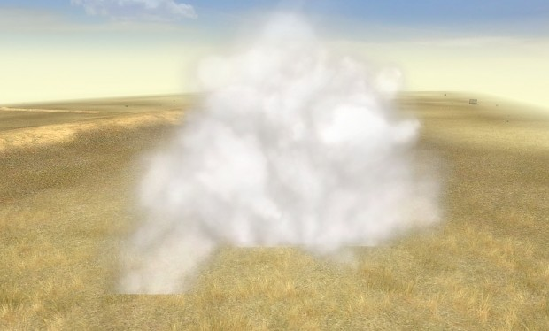 White Phosphorous Smoke Shell FX
