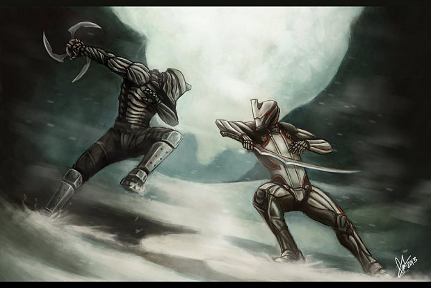 The First Tenno versus Excalibur