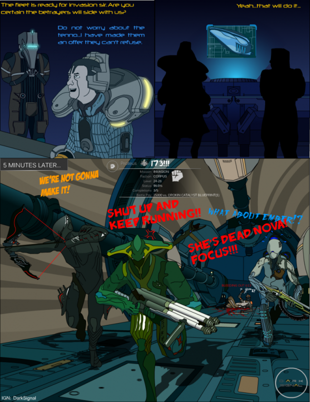 Warframe Comics