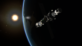 Adding docking port to station