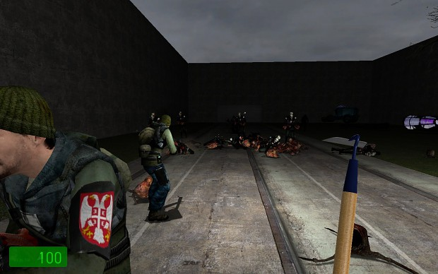 HL2 mod The Secret Of The Sickness