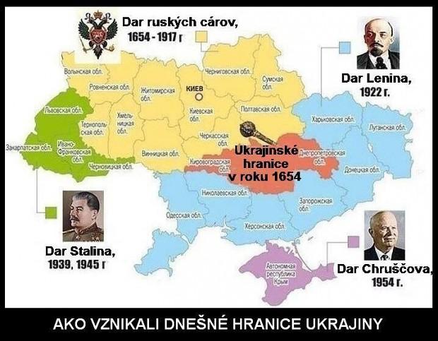 How is create today Ukraine border