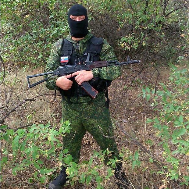 Slovak volunteer fighers in Donbass militia