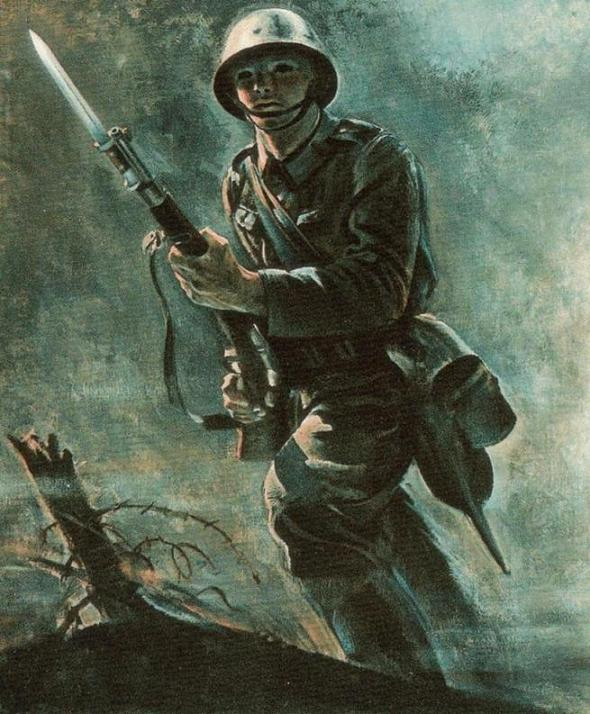 Slovak soldier