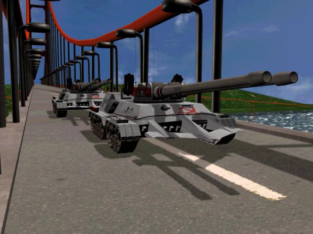 Apocalypse Tank test 2