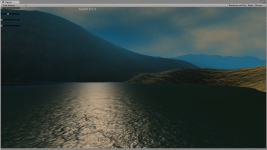 First Procedural Terrain Tests