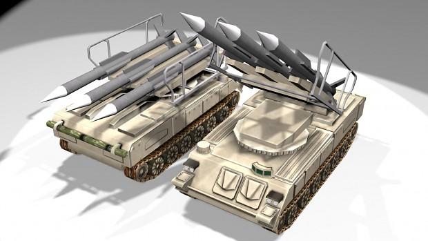 my sam-6 model anti aircraft